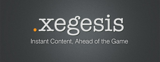 Xegesis Content Generator